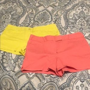 Lot of Loft shorts